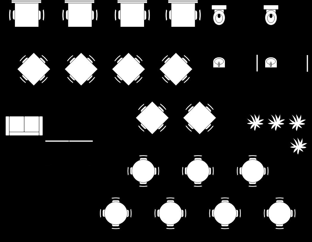 small restaurant seating plan