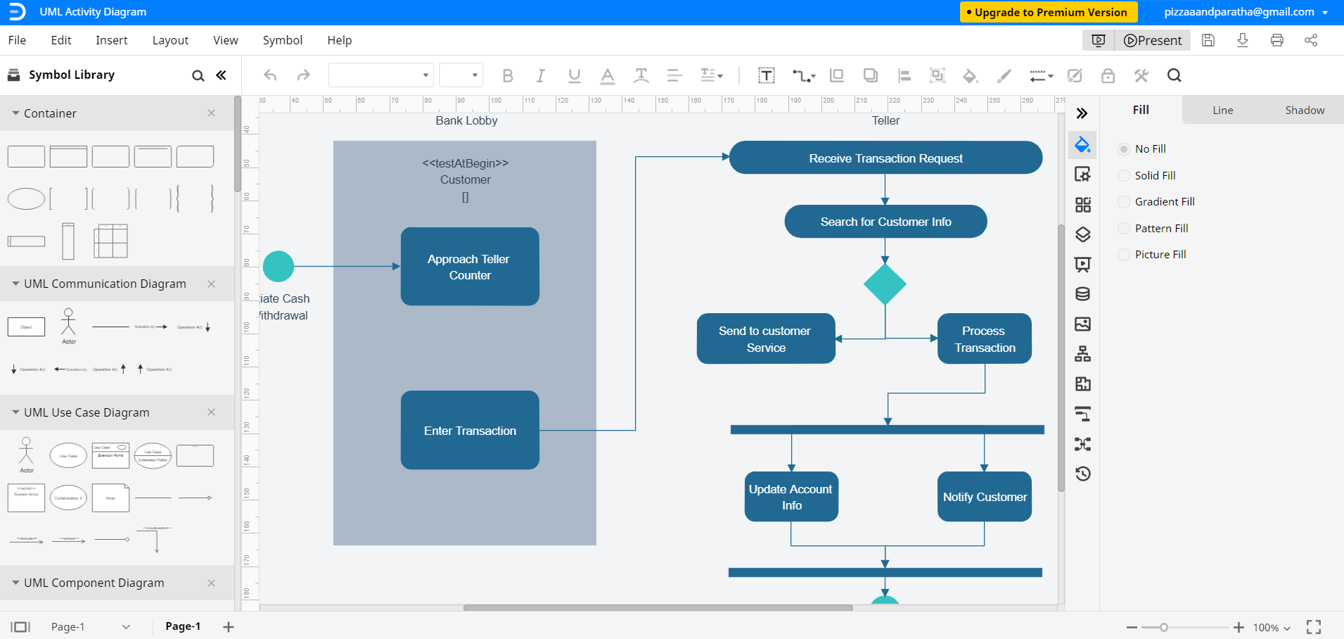 How To Draw A Uml Diagram With A Detailed Tutorial Edraw Max