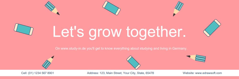 study center twitter header
