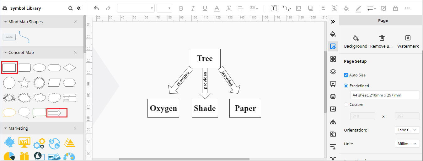 create concept map