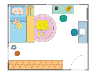 kids room plan