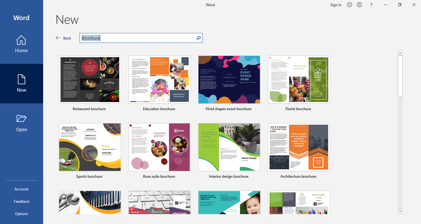 How to Make A Leaflet on Word  EdrawMax Online Regarding Ms Word Brochure Template