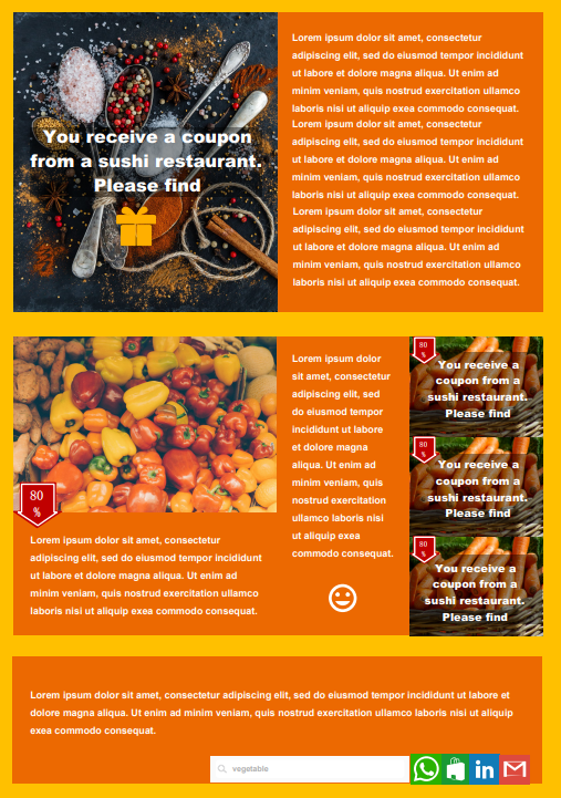 market email newsletter