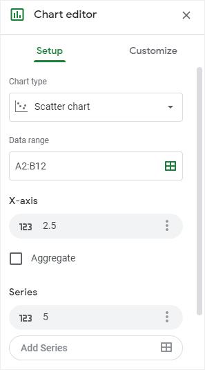 google chart editor
