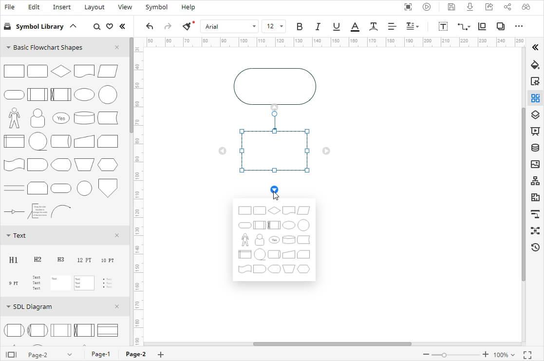 Build Flowchart Structure
