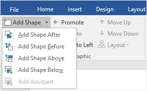 add shape button
