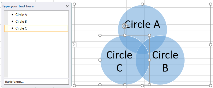 How To Make A Venn Diagram In Excel Edraw Max
