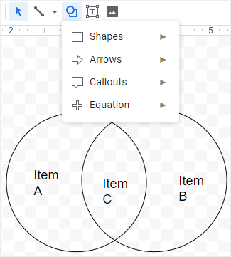 How To Make A Venn Diagram In Google Docs Edraw Max