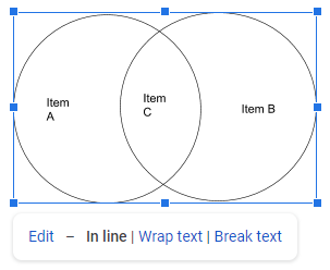 How To Make A Venn Diagram In Google Docs Edraw Max