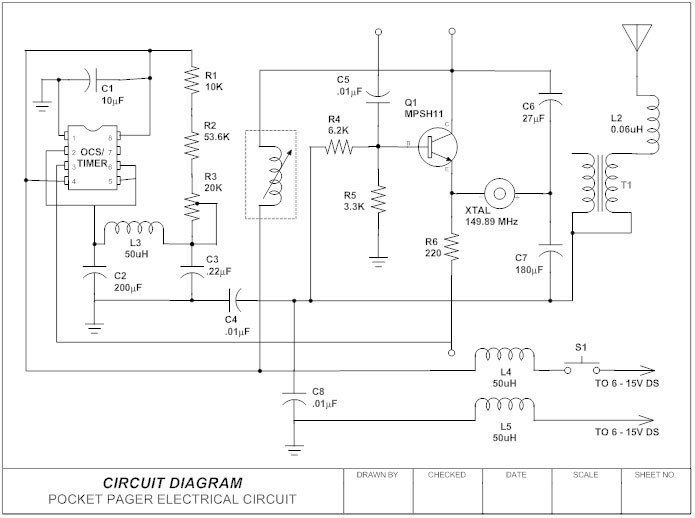 what is a circuit diagram