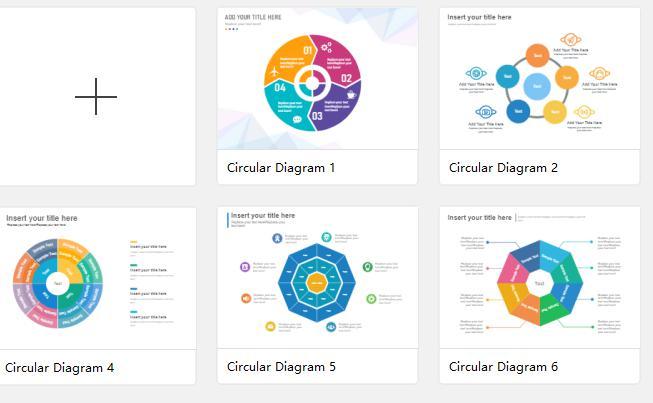 circular diagram templates