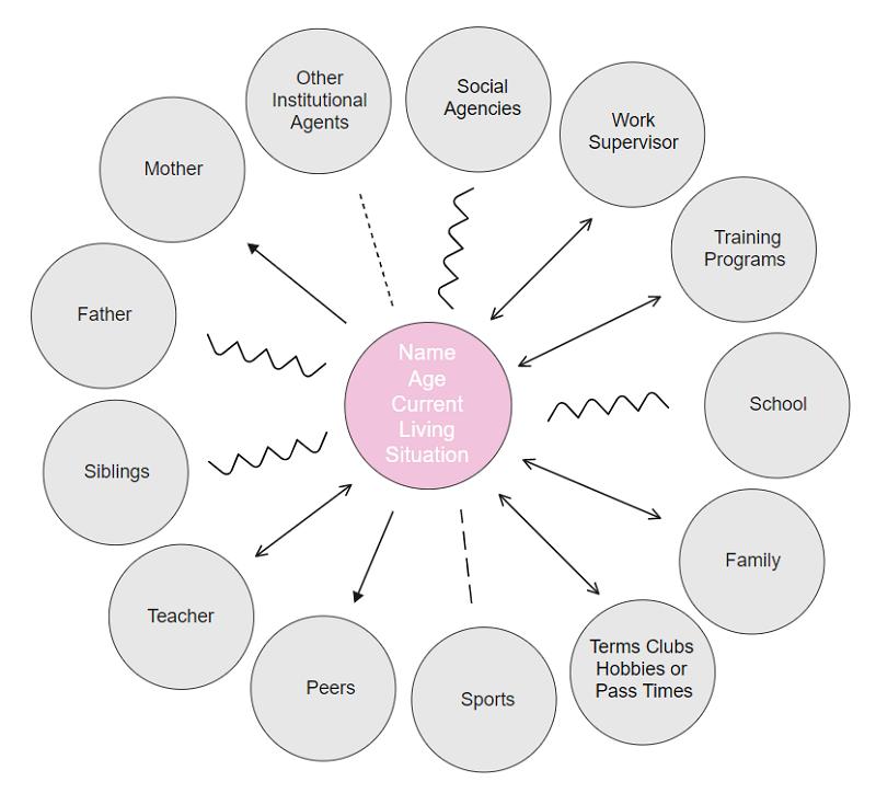 Social Work Ecomap