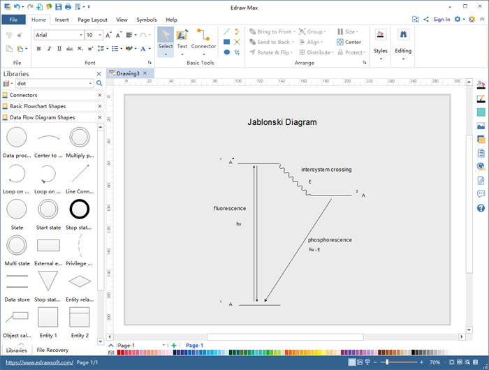 Physics Diagram