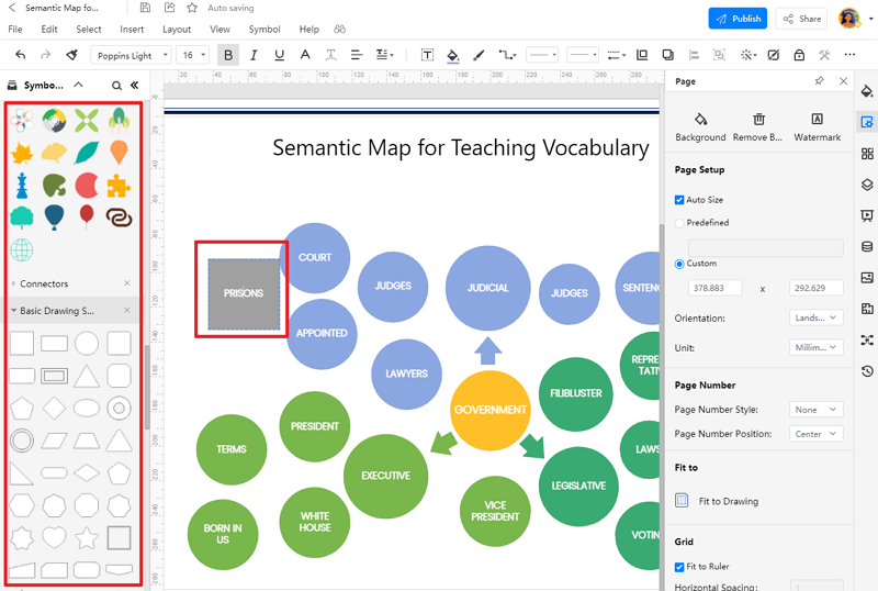 How to Create Semantic Mapping with EdrawMax Online