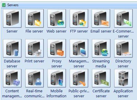server symbols