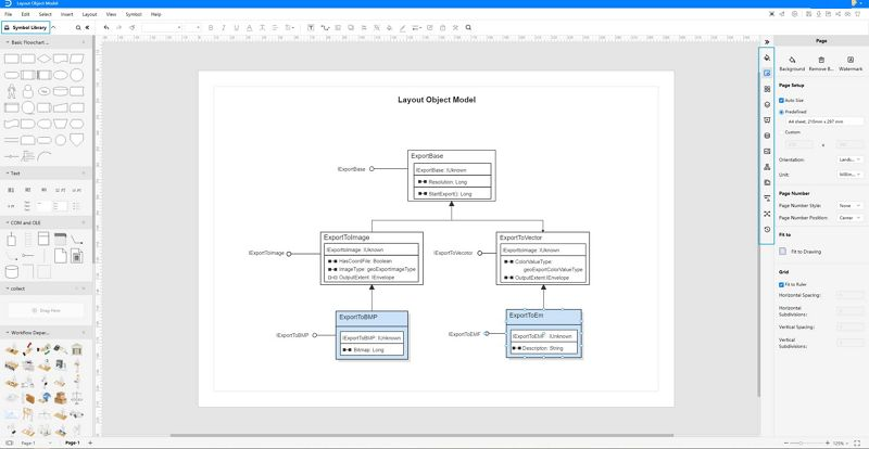 how to make object diagram