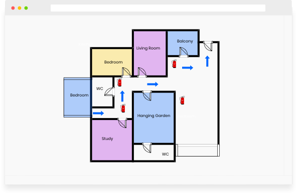 Customize Fire Escape Plan