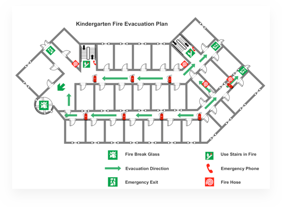 Fire Escape Plan 4
