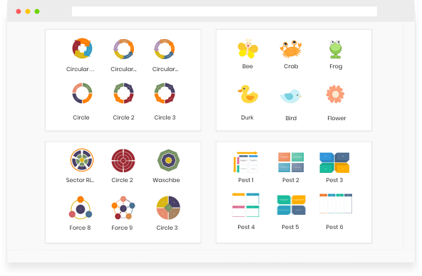 Graphic Organizer Symbols