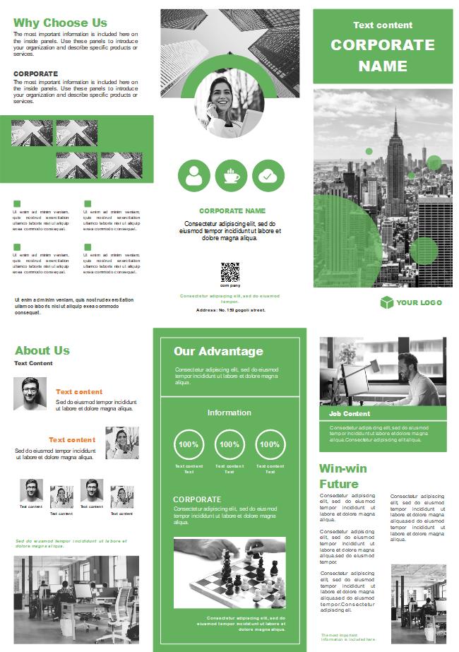 company vision brochure