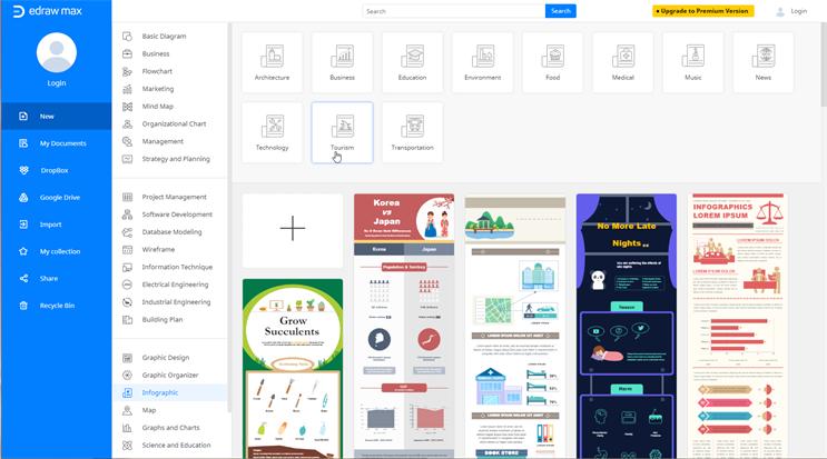creador de infografías online gratis