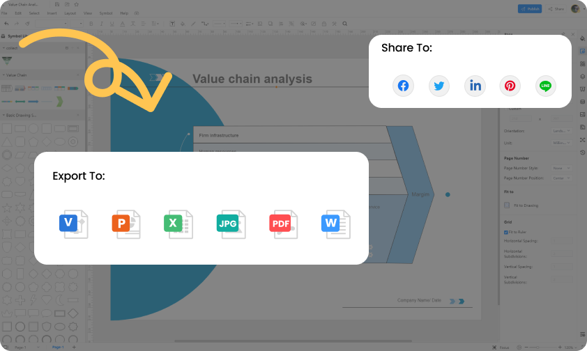 how to make value chain online