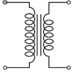 Electrical and Electronics Symbol - AC Transformer