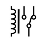 Electrical and Electronics Symbol - SPDT Relay