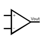 Electrical and Electronics Symbol - Operational Amplifier