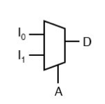Electrical and Electronics Symbol - Multiplexer